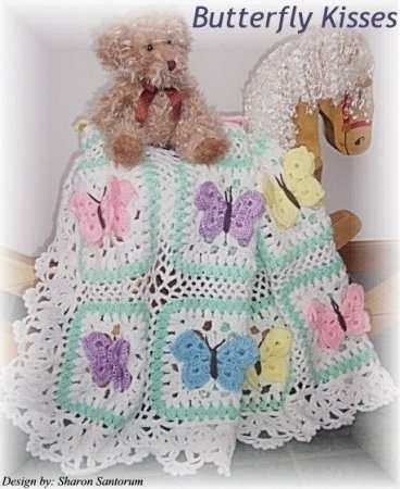butterfly crochet patterns...this is definitely on my