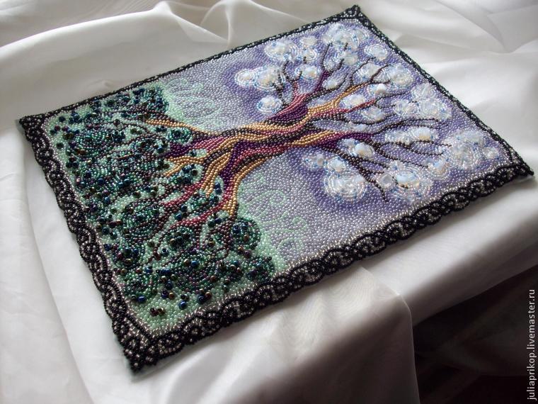 Как сделать вышивку на ткани