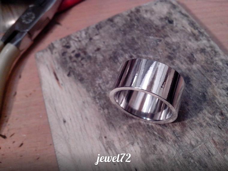 Делаем стильное кольцо из серебра, фото № 19