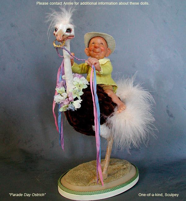 НЕбисерная лавка чудес: Куклы Annie Wahl. Позитив бывает и в старости)))