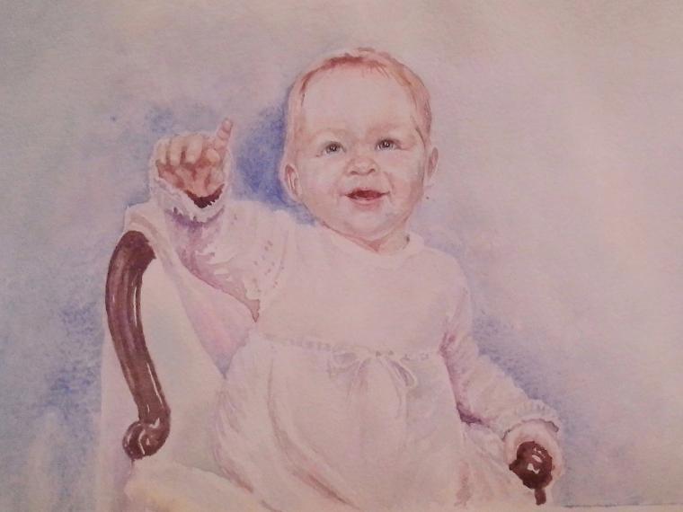 детские портреты на заказ, портрет мальчика заказать, акварельные портреты