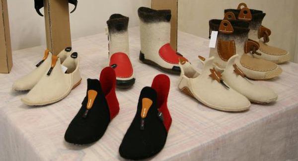 обувь ручной работы, войлочная обувь, мк в центре