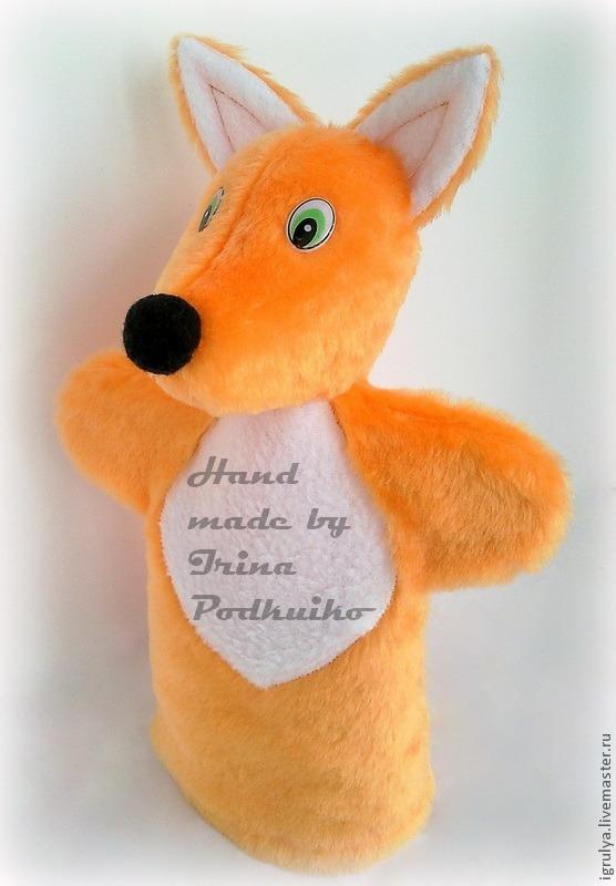 Игрушка на руку своими руками лисичка