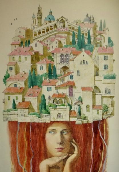 Алена Наливкина и ее сказочные картины, фото № 8