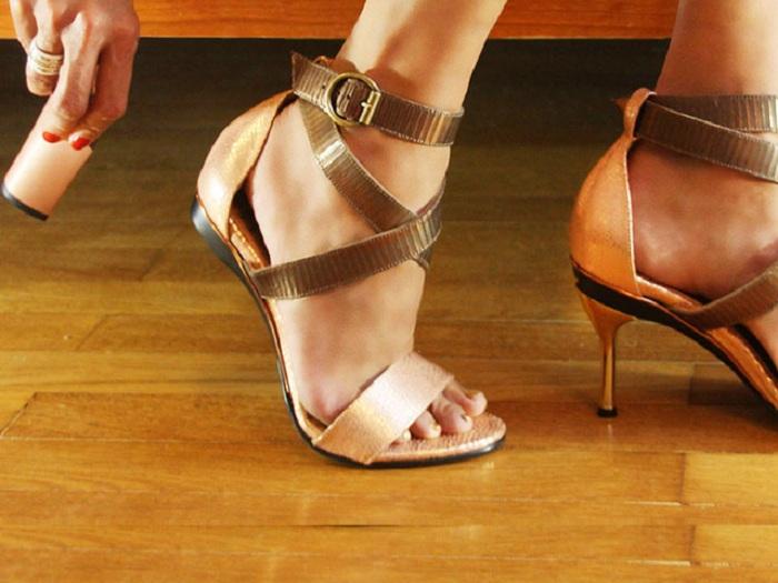 Как самому сделать туфли на каблуке