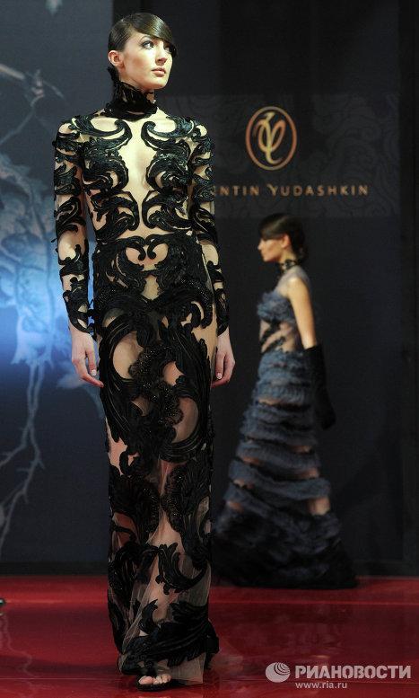 кутюрное платье