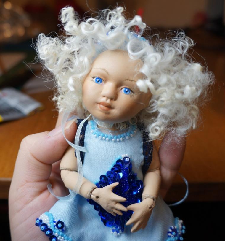 шарнирная кукла, керамическая кукла