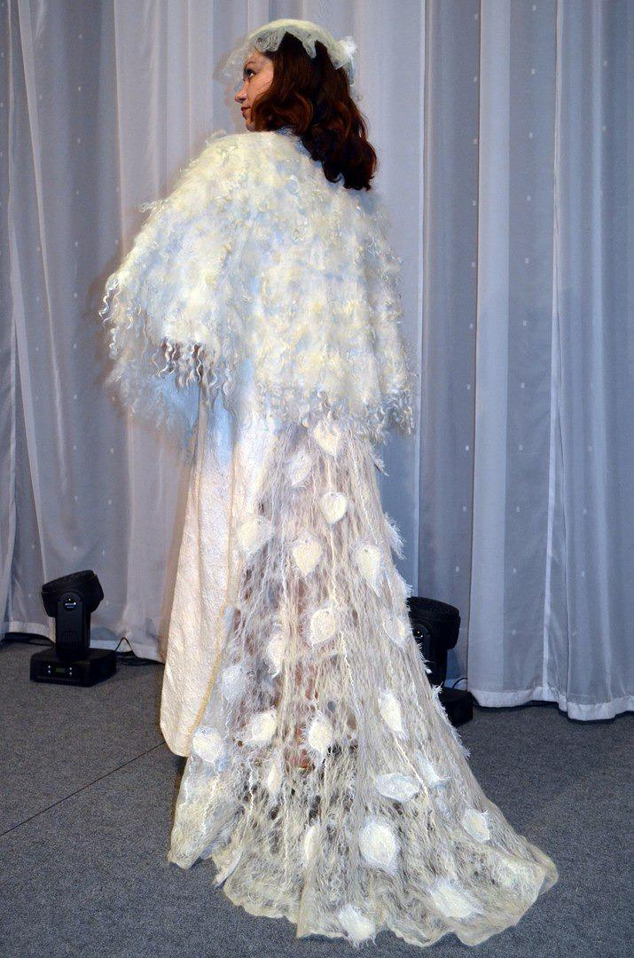 artвойлок, платья ручной работы, выставка
