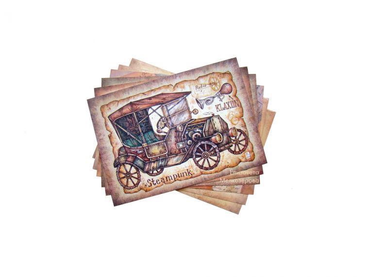 Так, что такое сувенирная открытка