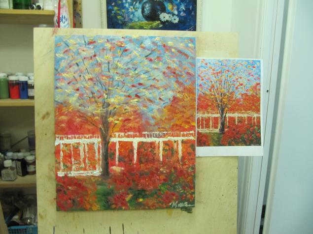 уроки живописи
