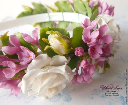 ярмарка мастеров, цветы ручной работы, украшения, мастера