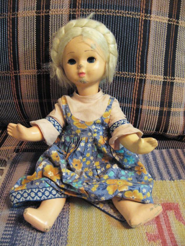 кукла, отдам даром