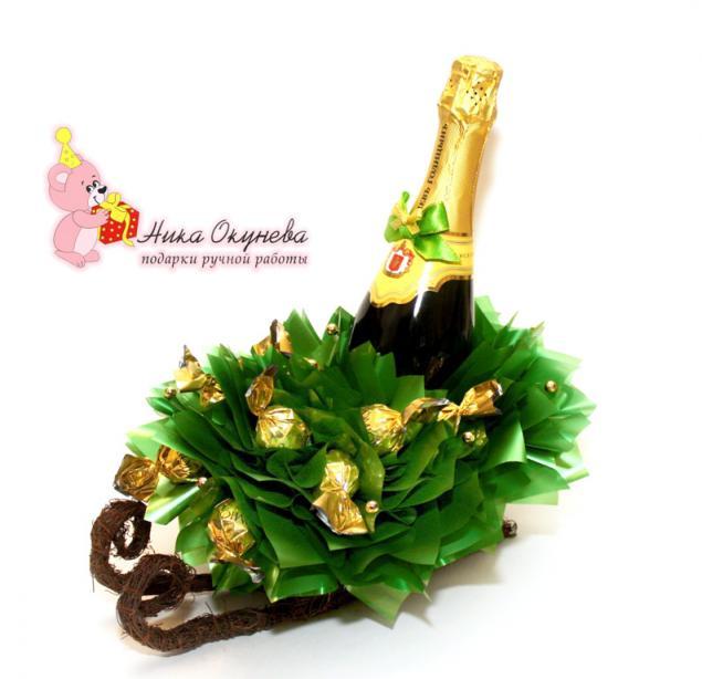 Поделки с шампанским своими руками