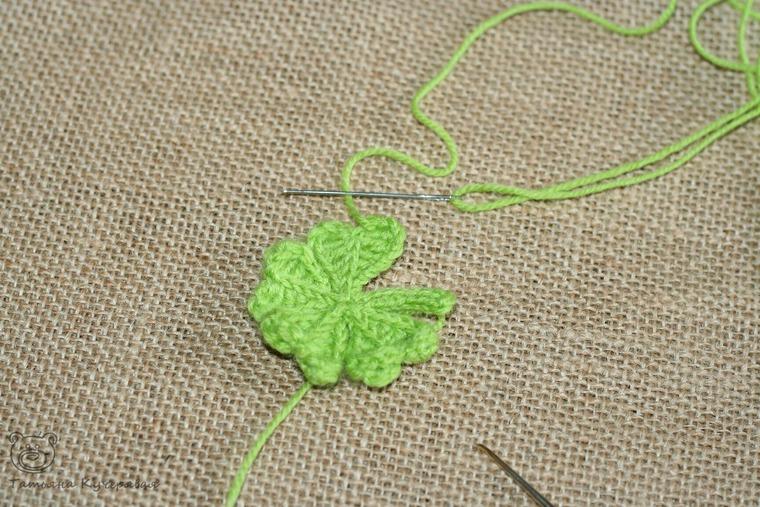 Crochetting a Four Leaf Clover, фото № 18