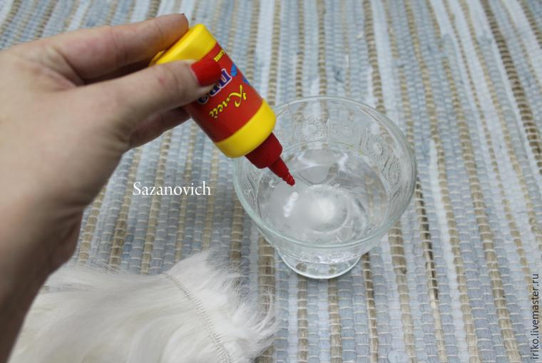 Clase magistral de creación y coloración de tramas para muñecas, foto No. 8