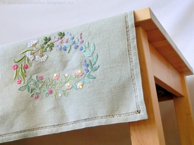 японская вышивка, вышивка