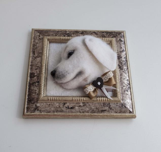 лабрадор, картина в подарок