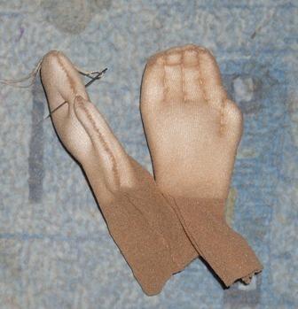 Как сделать куклу из капроновых колготок пошаговая 86