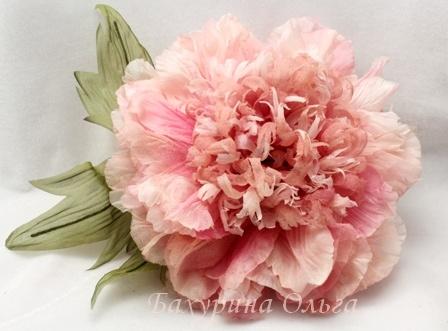 цветы из ткани, цветы ручной работы, цветоделие, брошь цветок, обучение, мастер-класс