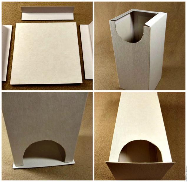 Домик из картона своими руками для детского сада