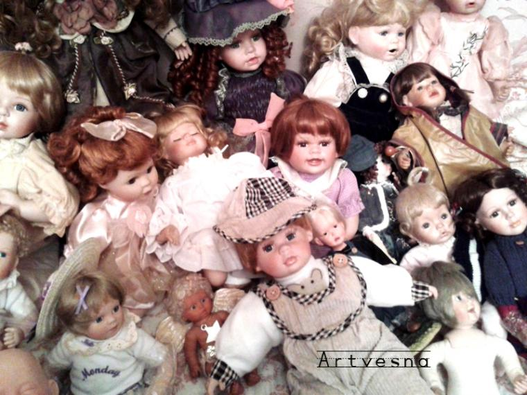 выставка-продажа, фарфоровые куклы, винтажная кукла, фарфоровые игрушки