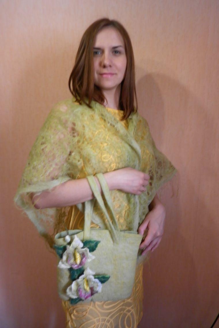 шарф-палантин, подарок женщине