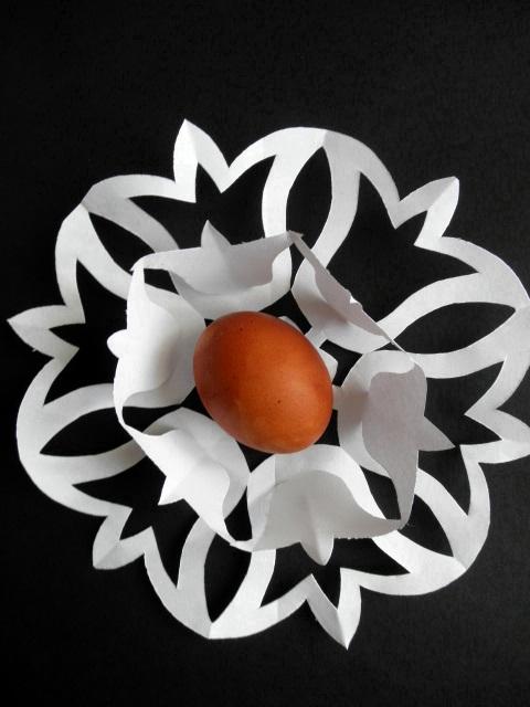 Печатный шаблон яйца