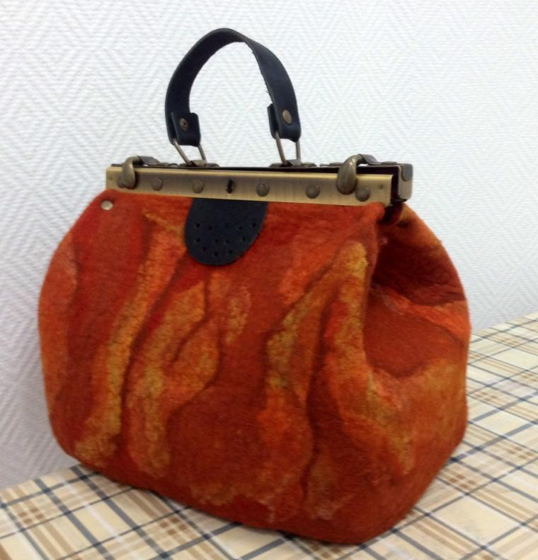 войлочная сумка