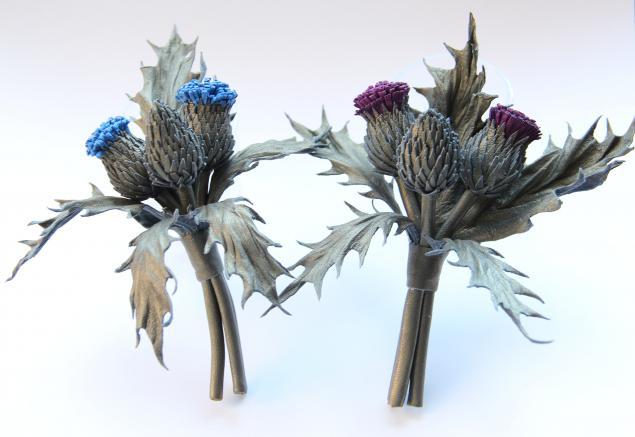 брошь-цветок, кожаная флористика, обучение, мастер-класс, елена бадреева