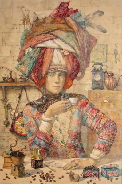 Алена Наливкина и ее сказочные картины, фото № 6