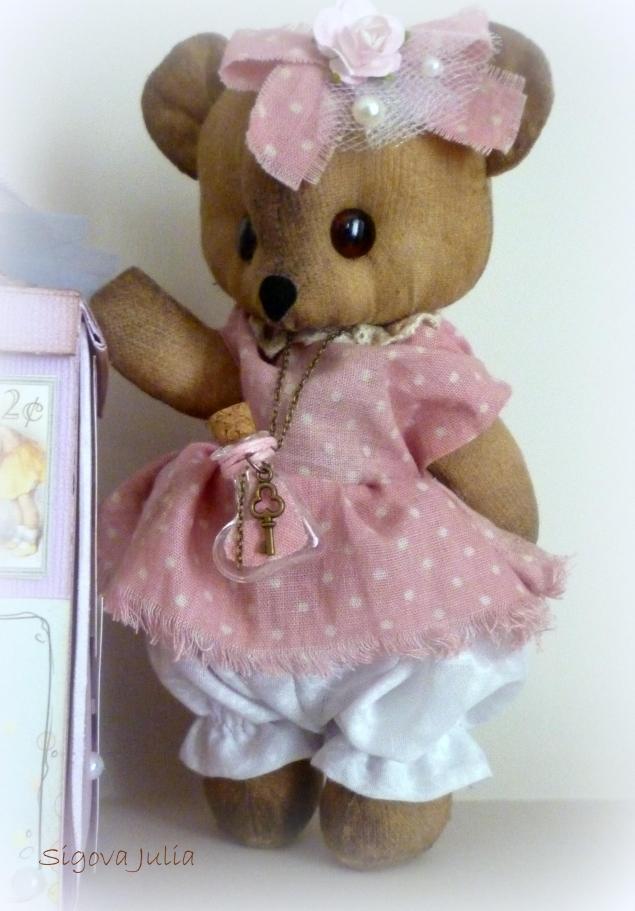аукцион с нуля, мишка девочка, мишка