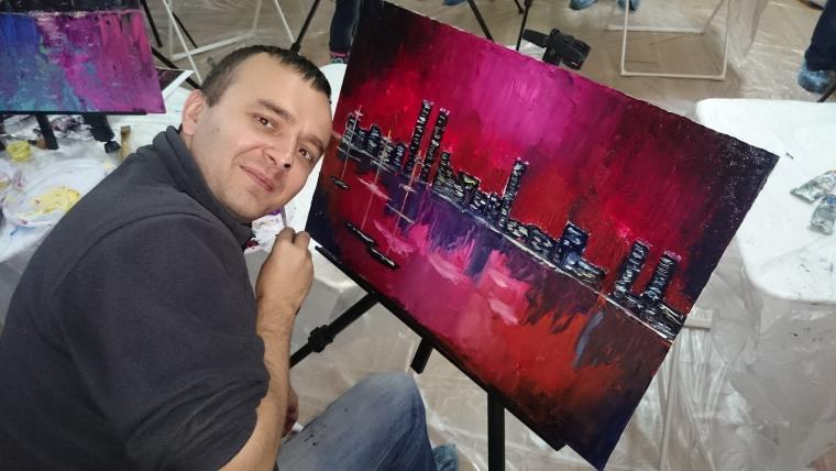 уроки живописи, живопись маслом