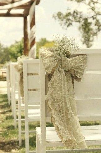 Льняная свадьба. Идеи для вдохновения, фото № 15