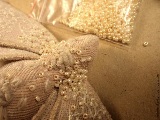 Текстильная брошь-мотылек, фото № 19
