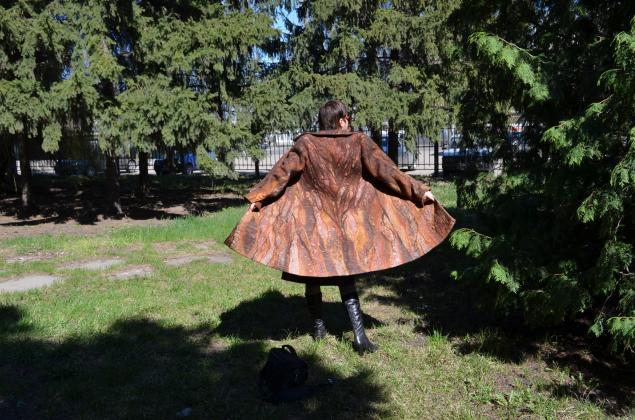 пальто валяное, пальто на заказ