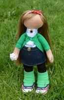 кукла, мастер-класс