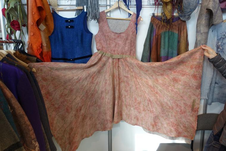 Шаблон для валяния юбки