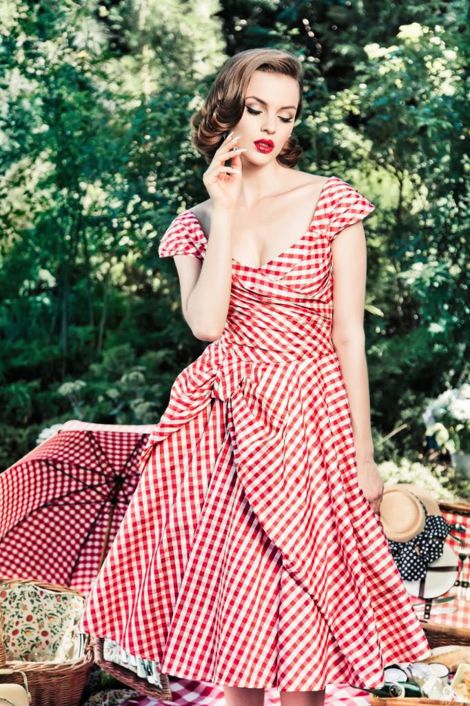 можно сделать фото платье ретро весна можете
