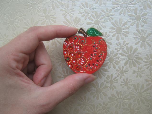 подарок, яблоко