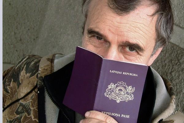 Паспорт негражданина страны. Латвия, Эстония