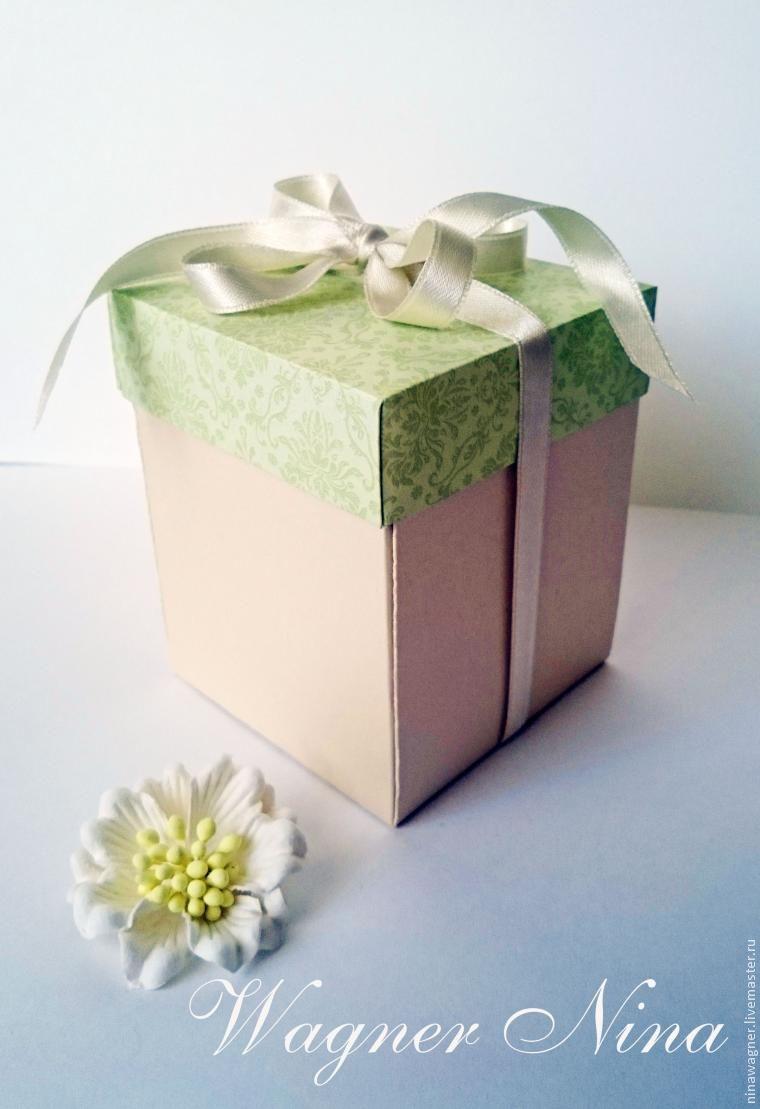 Коробка для подарка без клея своими руками фото 17