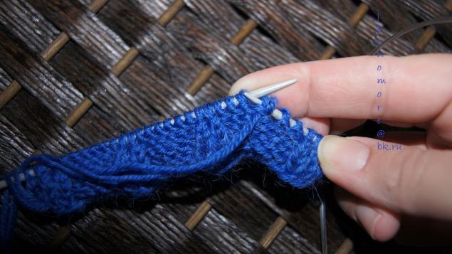 Шапка с кошачьими ушками схема вязания.
