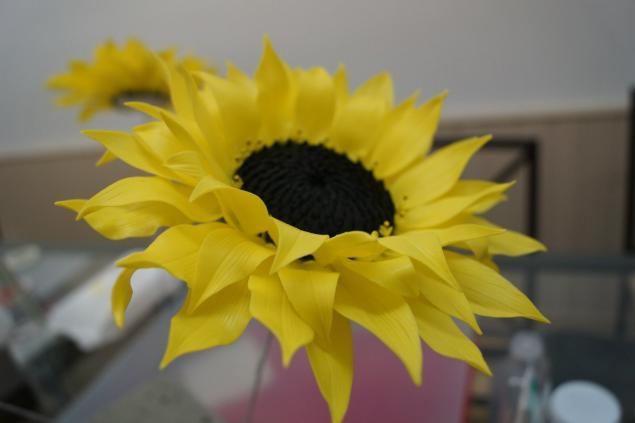 лепка цветов, керамическая флористика