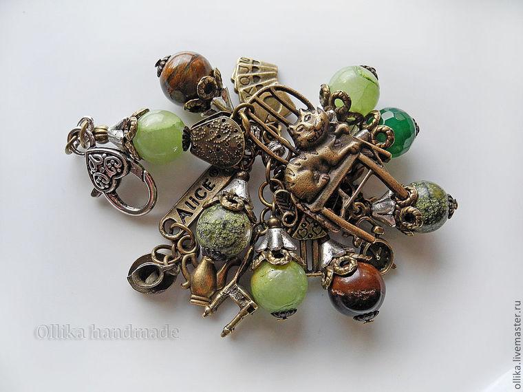 бижутерия ollika, браслет, авторская работа ollika