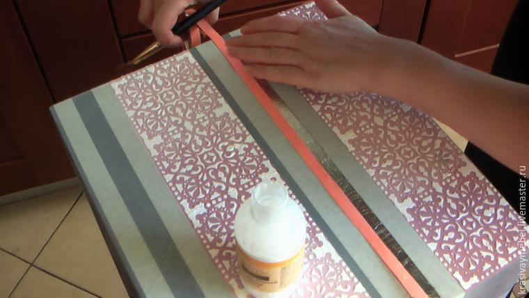 Декорирование сундука в объемной технике: публикации и мастер-классы – Ярмарка Мастеров