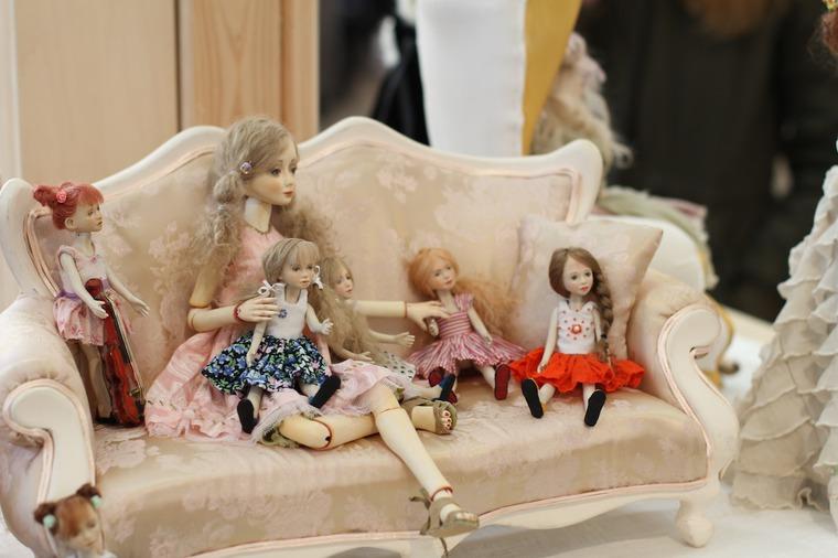 Международной выставка авторских кукол и мишек «Панна DOLL'я» в Минске. Часть 1., фото № 35