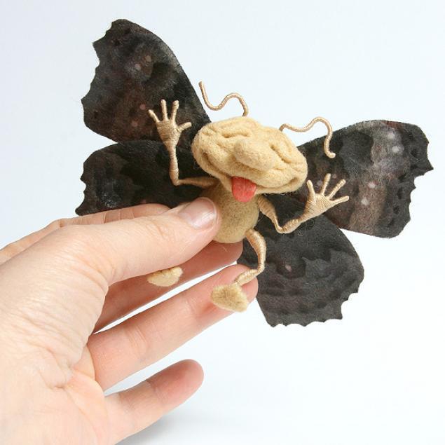 насекомые из шерсти