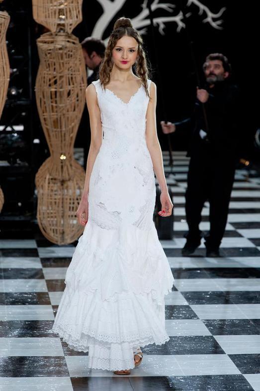 Franck Sorbier Haute Couture весна-лето 2014, фото № 21