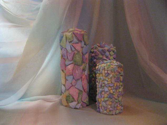 Комплект свечей «Сиреневая дымка», фото № 17