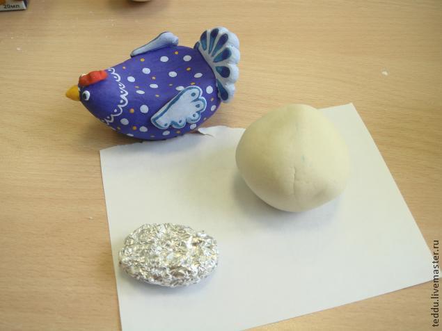 Как делать подставку для пасхальных яйца из соленого теста